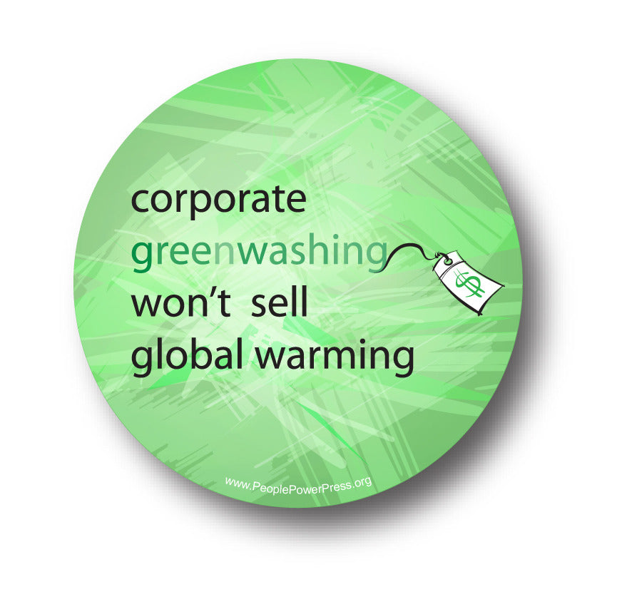 Corporate Greenwashing Won't Sell Global Warming