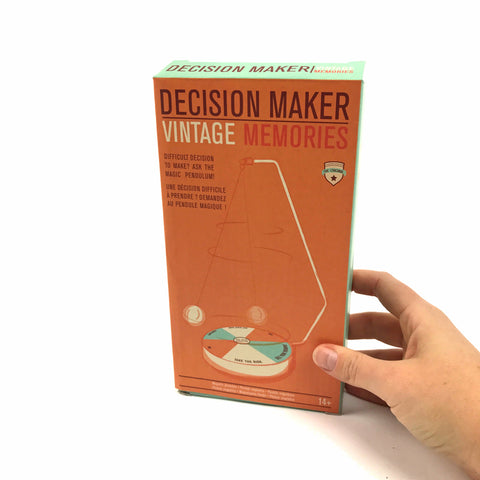 Decision Maker Vintage Memories: Problem solver app