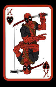 Deadpool Playing Card