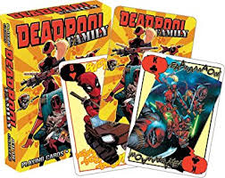 Deadpool Family Aquarius Playing Cards