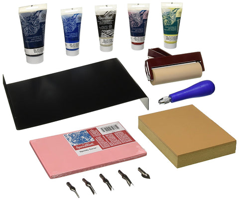 Deluxe Block Printing Kit Contents