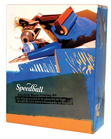 Deluxe Block Printing Kit - Speedball