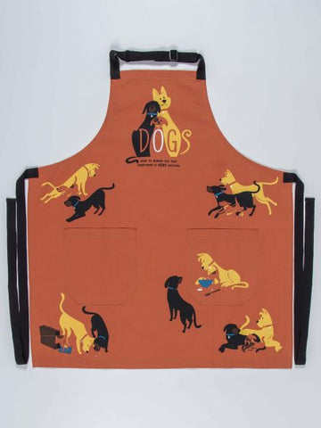 cute dog apron great gift for dog lover