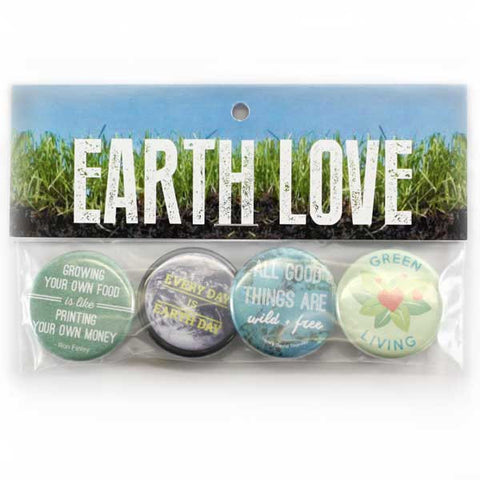 Earth Love Button Pack