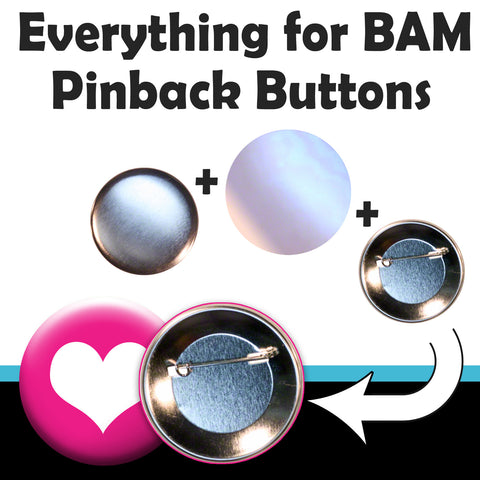 pinback button sets for Badge A Minit