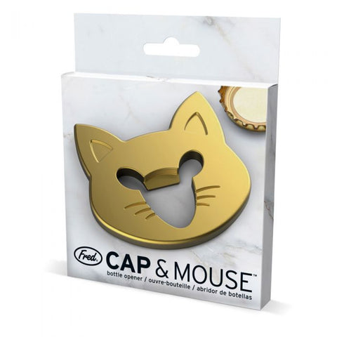 FRED Cap + Mouse Bottle Opener