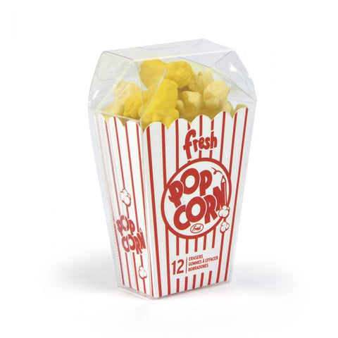 FRED Fresh Popcorn - POPCORN ERASERS (set of 12)