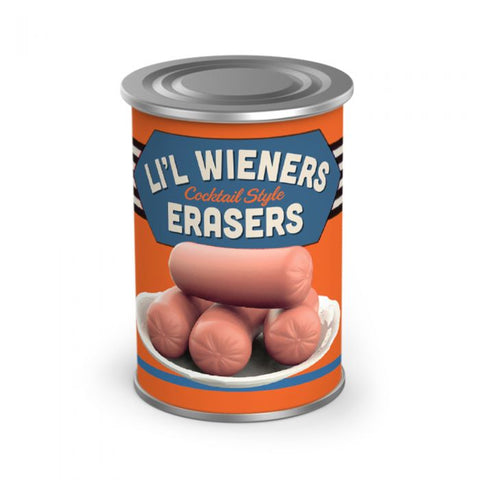FRED Uncanny - WEENIE ERASERS (set of 6)