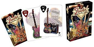 Fender Stratocaster Aquarius Playing Cards