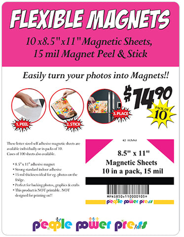 Wholesale magnet sheets in bulk