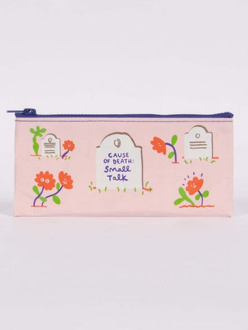 Pencil Case with Funny Death Humour