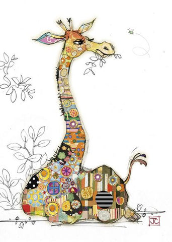 Bug Art Sweet Gerry Giraffe Card