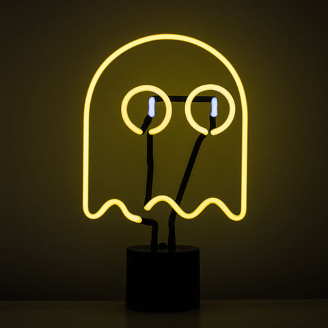 Scary Neon Ghost for a spooky Halloween
