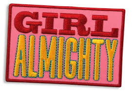 Trixie & Milo, Girl Almighty Iron-On Patch
