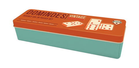 Vintage Memories Dominoes box, handy size and a great gift idea
