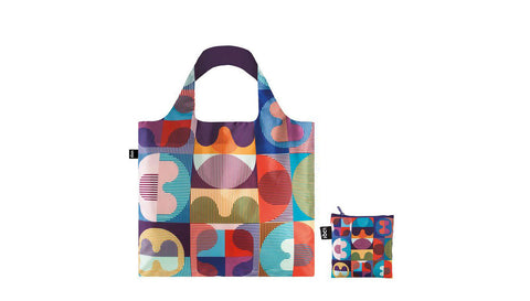 Cool Grid Pattern Super Strong Tote Bag
