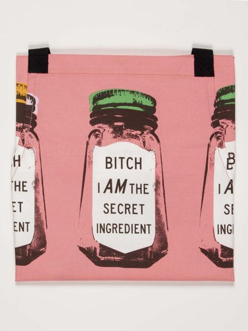 bitch kitchen apron pink funny gifts