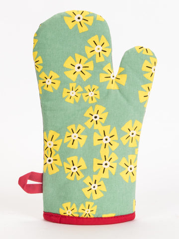 Individual patterns on both sides of these great quality oven mitts from Blue Q