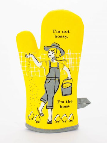 Great Gift Oven Mitt, I'm Not Bossy