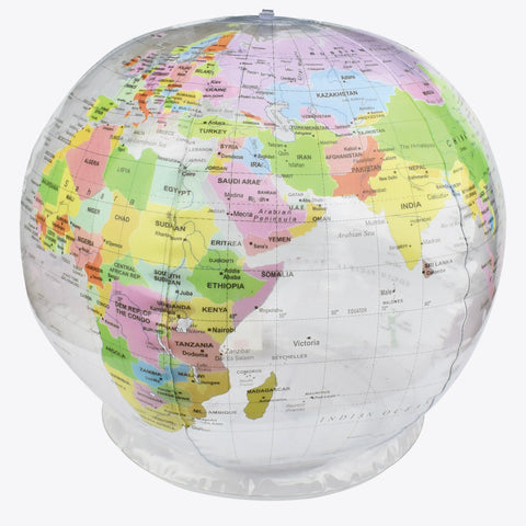 Inflatable Globe 26 cm diameter