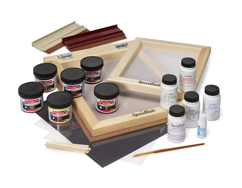 Screen Printing Kit Contents