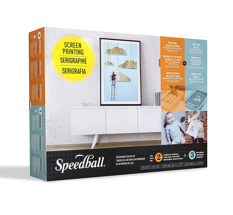 Screen Printing Kit - Intermediate Deluxe Kit - Speedball