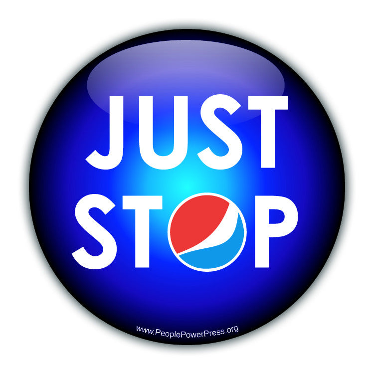 Just Stop Pepsi - Pepsi-Cola  adbust.