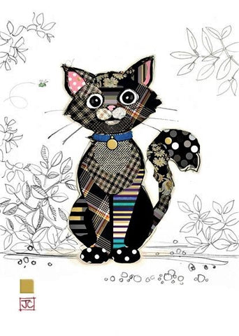 Kasper Kitten Cute Blank Card
