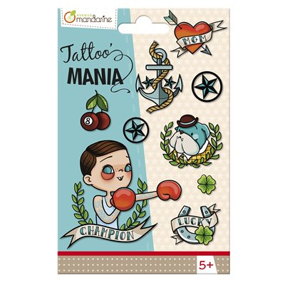Super Boy Temporary Tattoo for Kids