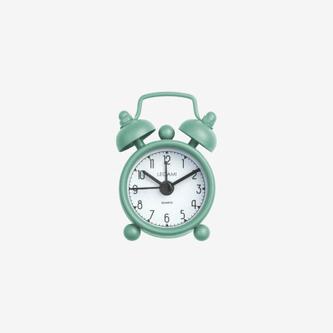 Green Mini Alarm Clock from Legami