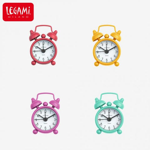 Adorable Mini Alarm Clocks in a Variety of colours
