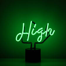 Awesome Neon High Sign for Table Tops