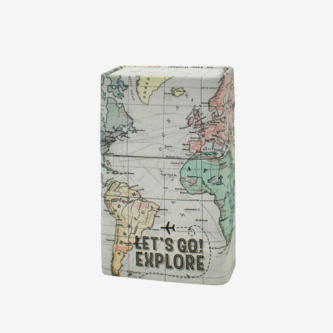 Let's Go Explore a cool, new cigarette packet holder