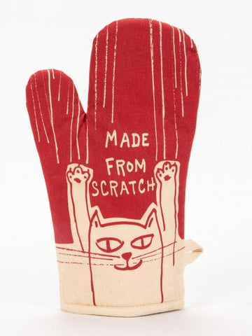 Cat lover oven gloves