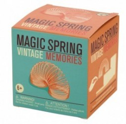 "Cool, and classic, the ""Magic Spring"" toy"