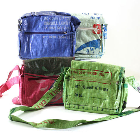 Small Rice Messenger Bag Colour Options
