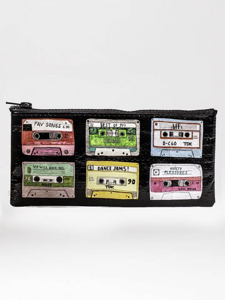 Pencil Case with Mixed Tapes Theme