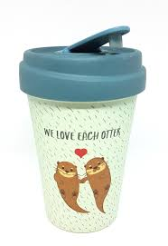 Otters Chic Mic Bamboo Cup