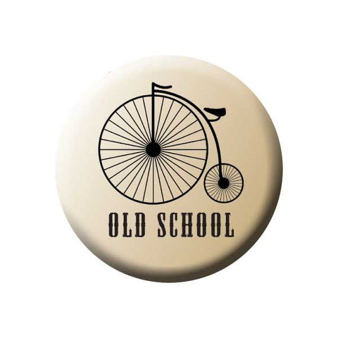 Old School, Big Wheel Bicycle, Penny Farthing, Bicycle Buttons Collection from People Power Press