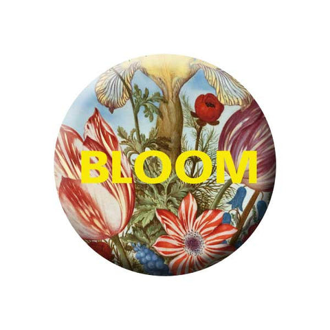 Bloom, Floral, Flowers, Earth Environment Buttons Collection from People Power Press