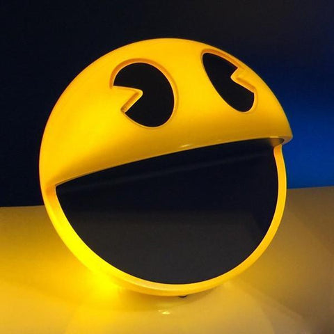 Pac-Man-Lamps PacMan Glow in the dark nightlights
