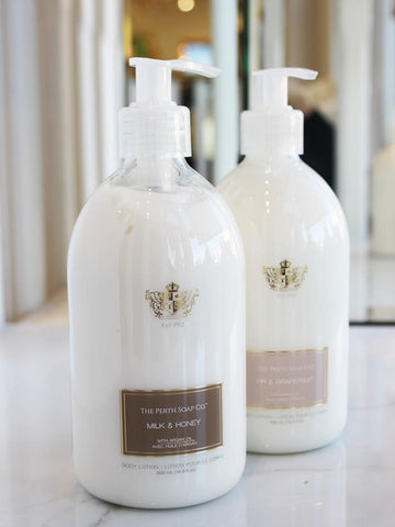 Gorgeous, luxurious body lotions, paraben-free, made with Argan Oil