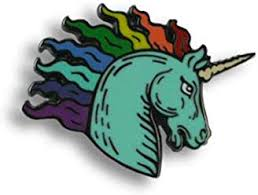 Awesome Rainbow Unicorn Embroidered Patch