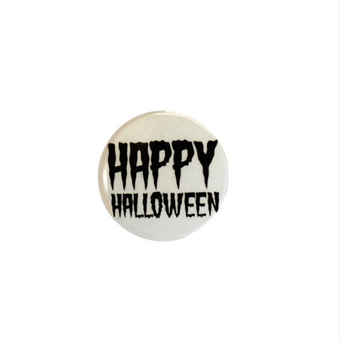 Spooky Reflect-O Buttons Ghost Happy Halloween