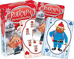 Rudolph Playing Cards Aquarius