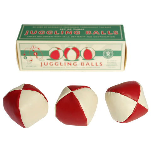Essential set of 3 Juggling Balls for any Busker