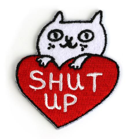 Shut-Up-Cattitude-Patch