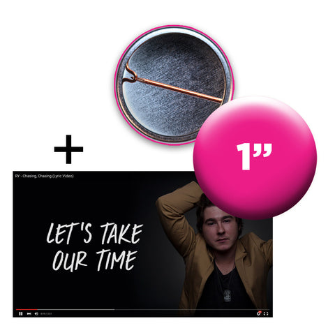 Slideshow Lyric Video + Custom Button Bundle