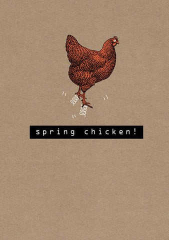 Funny Chicken Blank Card
