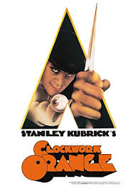 Stanley Kubrick's Clockwork Orange Tin Sign